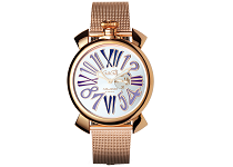 5081.3 SLIM 46MM GOLD PLATED