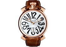 MANUALE 48MM GOLD PLATED