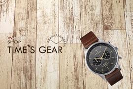 【ご案内】みのおキューズモールに「TIME'S GEAR」オープン