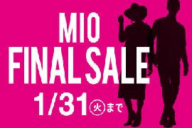 「MIO FINAL SALE」スタート☆KOYOミオ天王寺店
