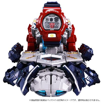 G-SHOCK × TRANSFORMERS MASTER OPTIMUS PRIME RESONANT MODE [With G-SHOCK]